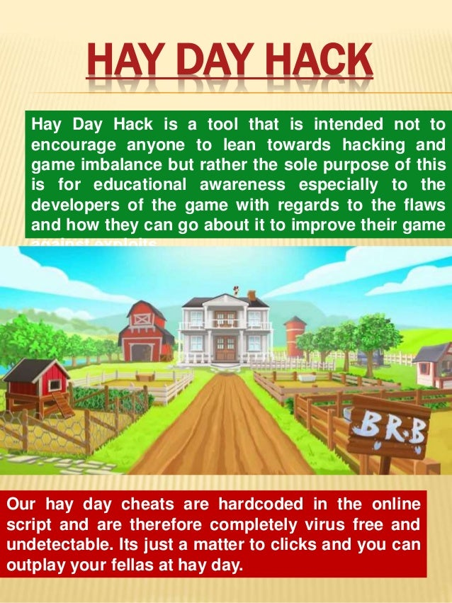 Hay day cheat