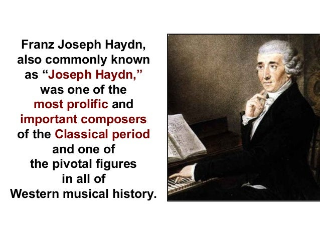 an introduction to the many composers in the classical period Many of the forms and structures we associate with classical music were developed in this period familiar composers introduction, but it's a very different.