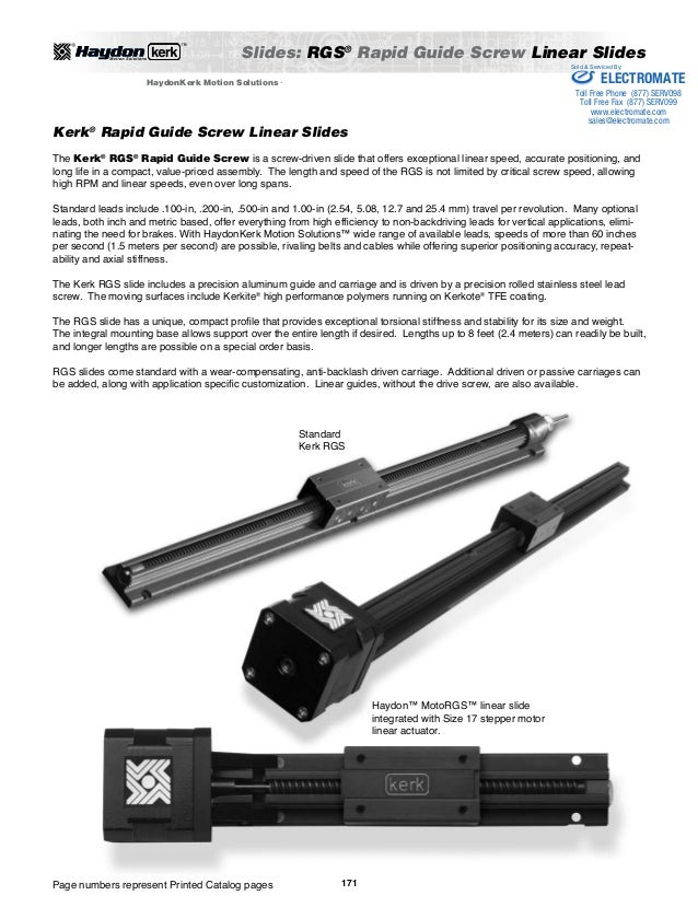 Haydon kerk linear_rails_guides_splines_catalog