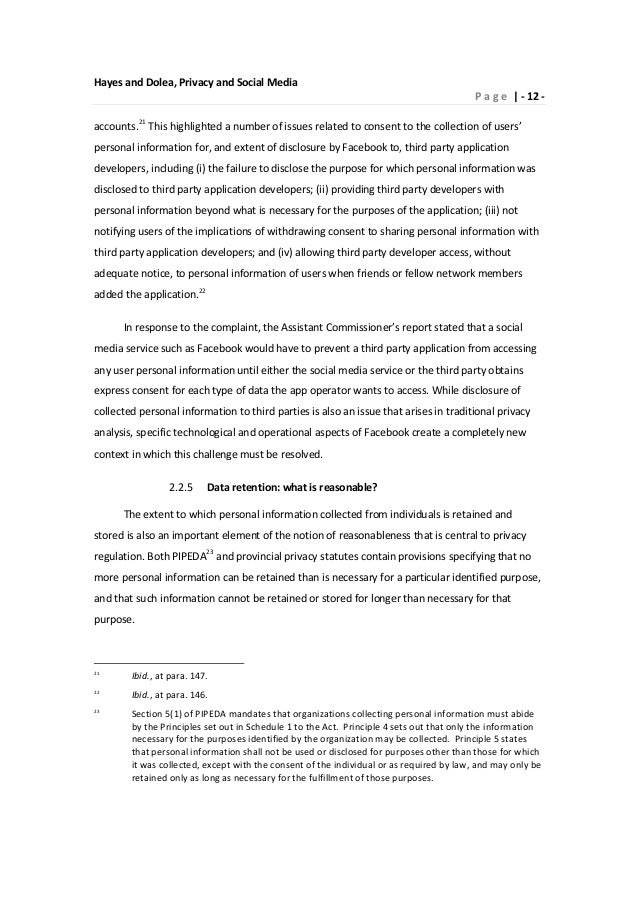 media and privacy essay Free essay on internet privacy available totally free at echeatcom, the largest free essay community.