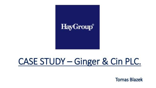 CASE STUDY – Ginger & Cin PLC. Tomas Blazek