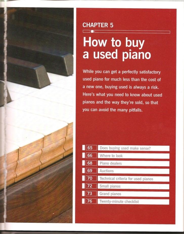 Haynes piano manual how to buy