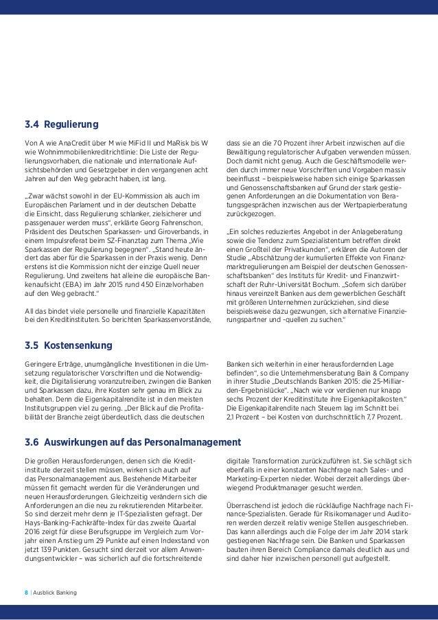 Hays Branchenreport Ausblick Banking