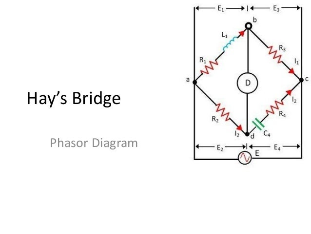 How To Draw A Phasor Diagram.Hay S Bridge Phasor Diagram Draw