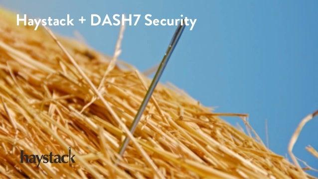 Haystack + DASH7 Security 1