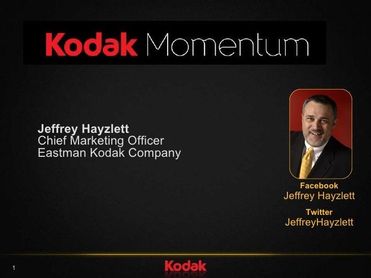 eastman kodak company case study