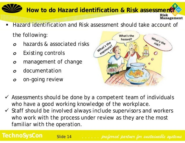 hazard identification at work place Identifying workplace hazards identifying workplace hazards  workplace hazards are any aspect of work that cause health and safety risks and have the potential to.