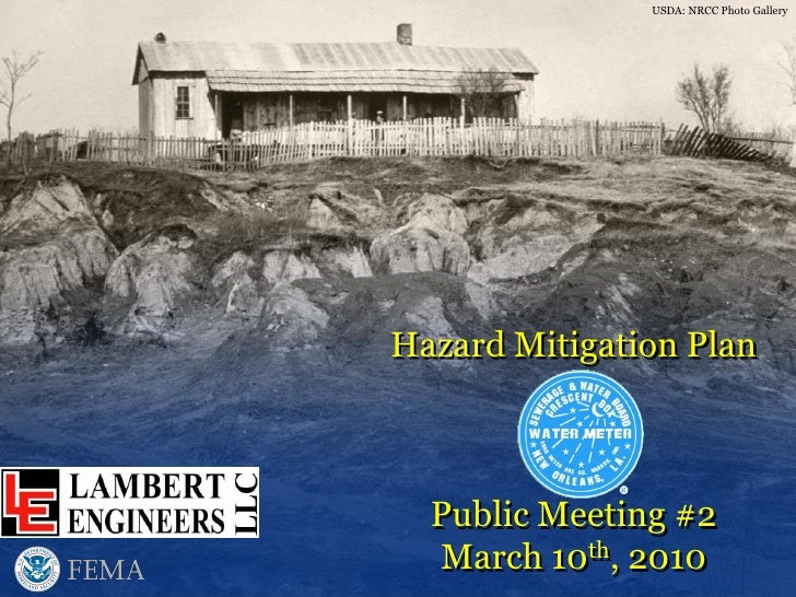 USDA: NRCC Photo Gallery     Hazard Mitigation Plan      Public Meeting #2   March 10th, 2010