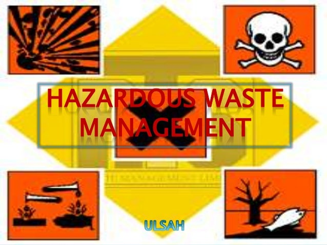 hazardous waste management Hazardous waste management is a relatively new field that has evolved as a  subset of environmental science, as companies realized that.
