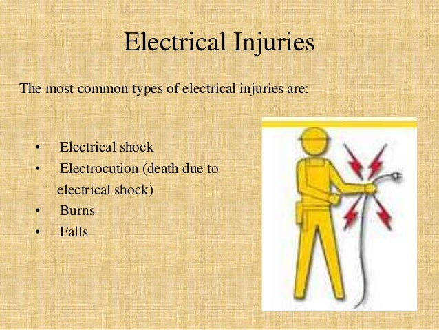 Electrical Hazards and their safety