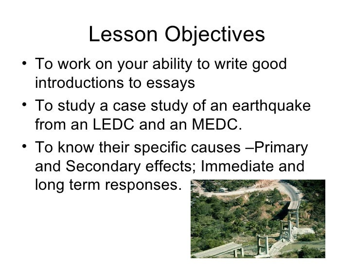 cause and effect of earthquakes essay So many things are said to cause earthquakes, things have become a little   earthquake (we know it was no volcanic eruption and no impact.