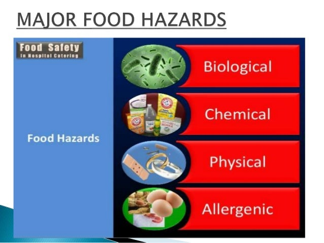 Hazards in foods for 5 kitchen safety hazards