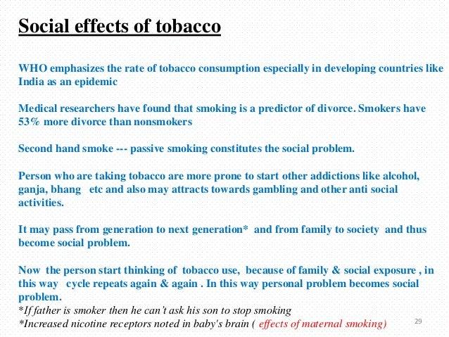 Social Impact Of Smoking
