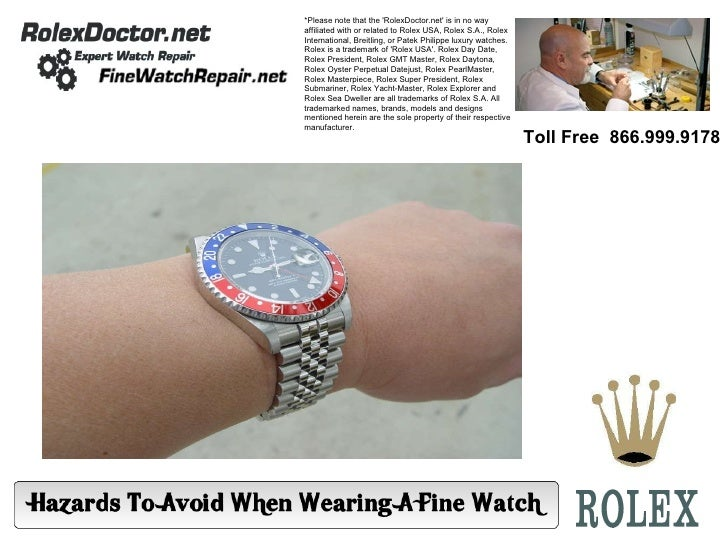 *Please note that the 'RolexDoctor.net' is in no way affiliated with or related to Rolex USA, Rolex S.A., Rolex Internatio...