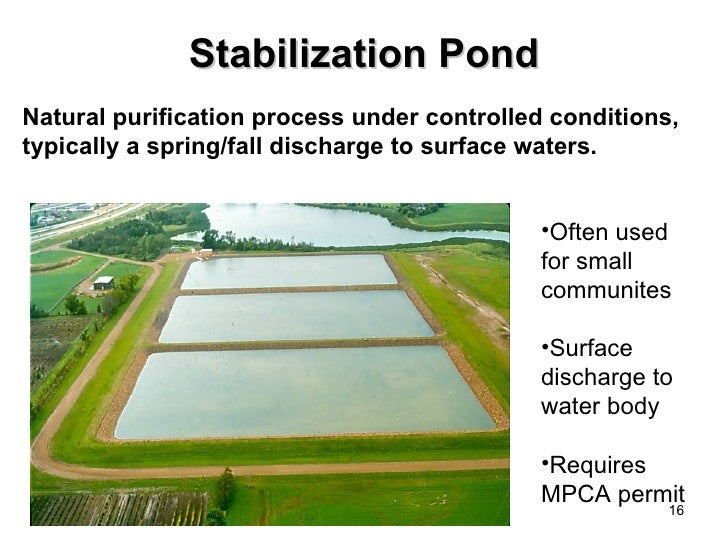 Hazel run upgrading your wastewater treatment you have for Pond water treatment systems