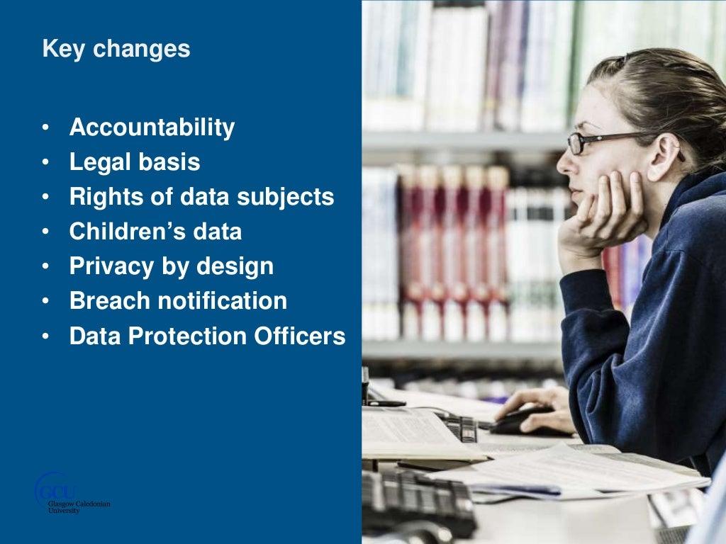 Changing legislation – General Data Protection Regulation (GDPR) and libraries -