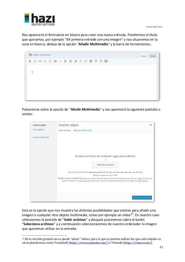 Guía de Wordpress.com