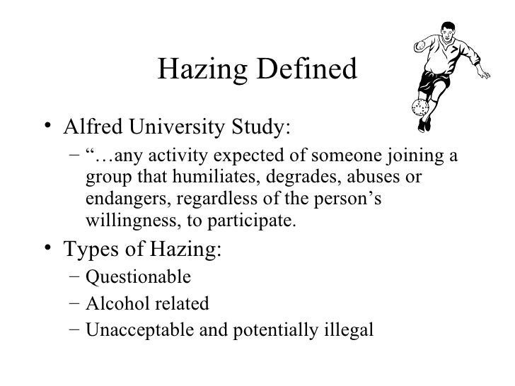 The Issue Of Hazing As A Rite Of Passage In Greece