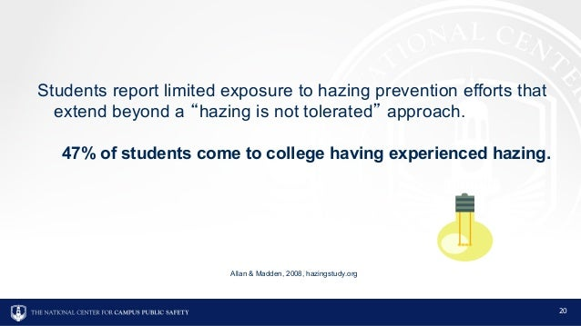 Hazing Prevention: A Call to Action