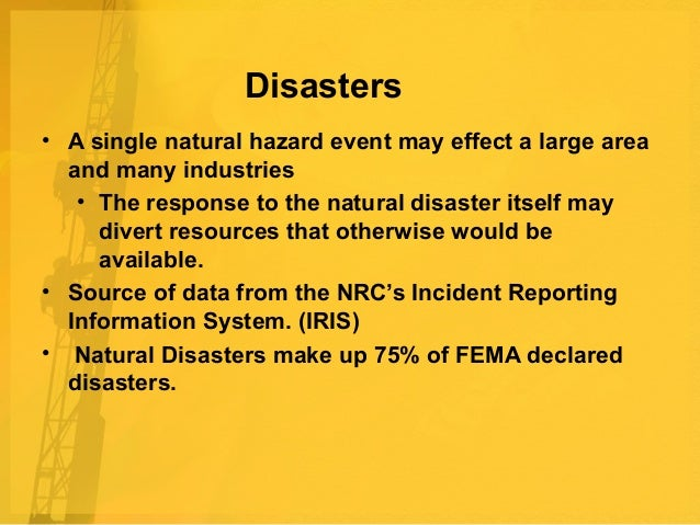 Natural Disasters Hospital Management