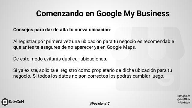 Haz Mas Visible Y Posiciona Tu Negocio Con Google My Business