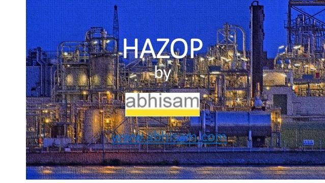 HAZOP  by  www.abhisam.com