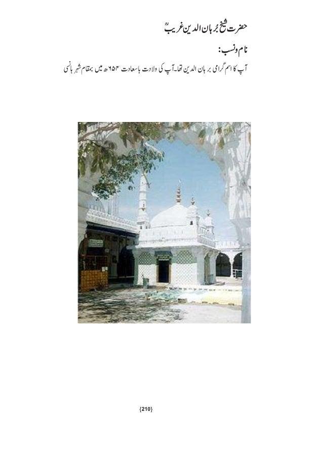 Hazrat burhanuddin gharib rahematullah alaeh