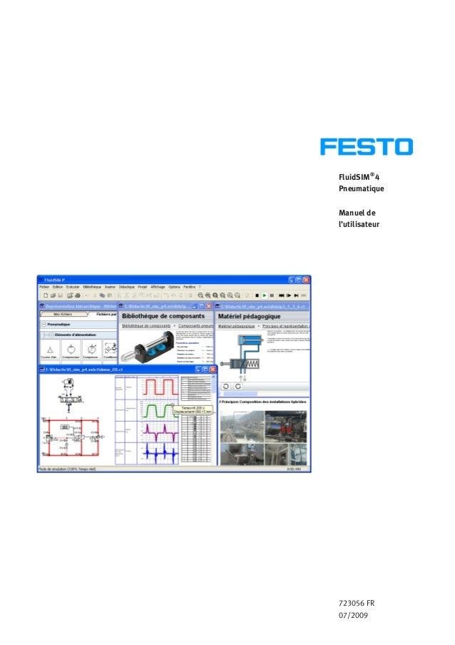 FluidSIM® 4 Pneumatique Manuel de l'utilisateur 723056 FR 07/2009