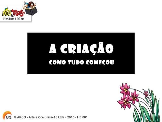Hb001 a criacao Slide 3