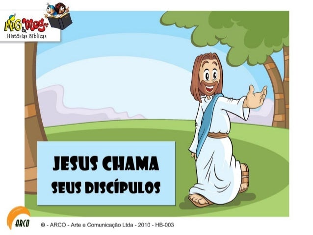 Hb003 jesus chama-seus-discipulos Slide 3