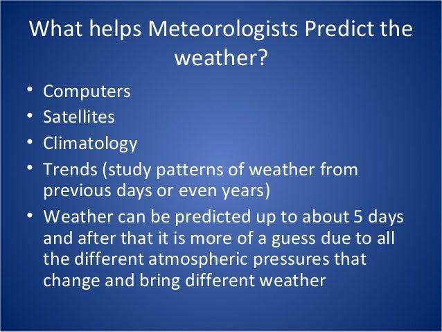 11 Weather Forecasting