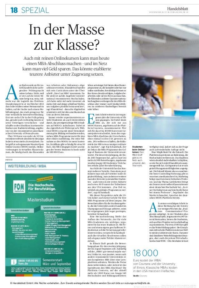 Dieses Dokument ist lizenziert für mos@test3.de, uB46398v. Alle Rechte vorbehalten. © Handelsblatt print. Download vom 26....