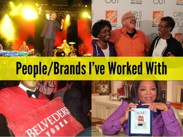 My HBA Presentation - Social Media and James Brown Slide 3