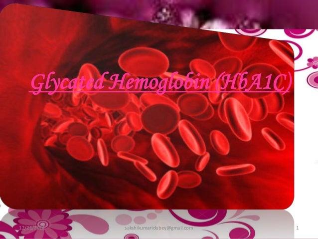 glycated hemoglobin  hba1c