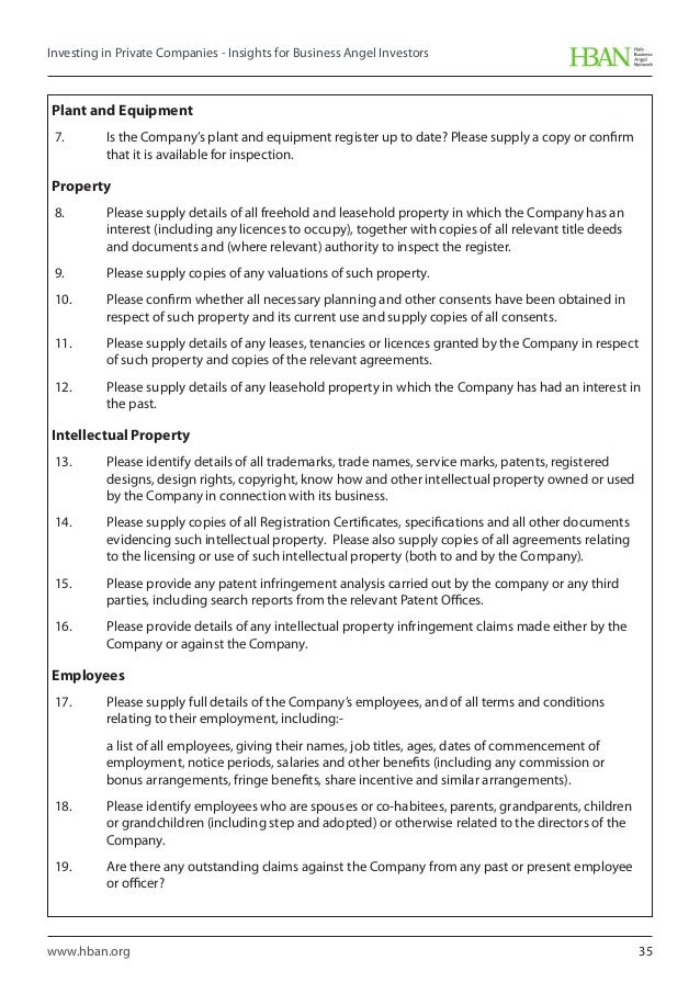 Angel investor proposal template investment proposal templates 11 hban investing in private companies insights for business angel inv pronofoot35fo Gallery