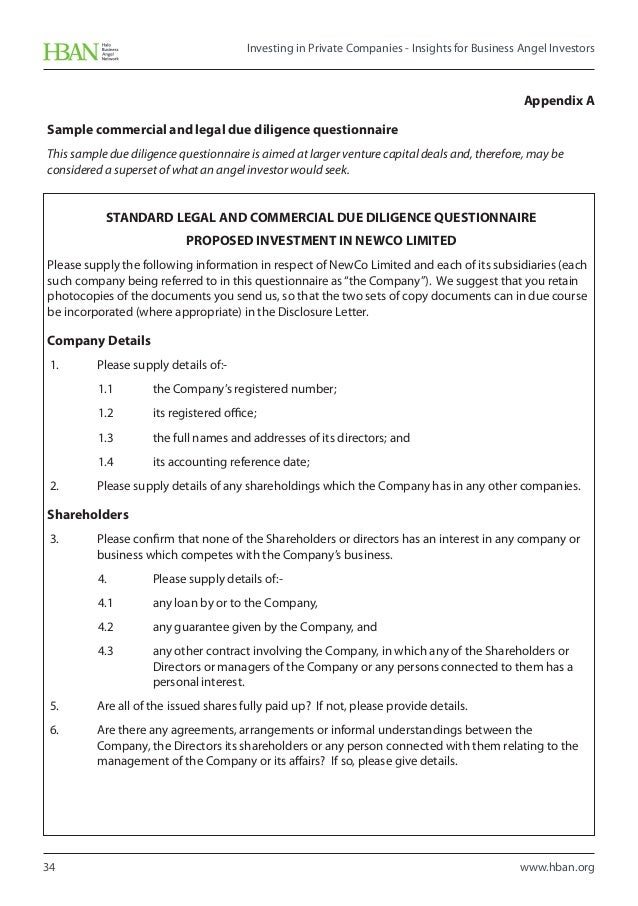 Business investment contract fiveoutsiders investor questionnaire template investor contract sample small business business investment contract wajeb