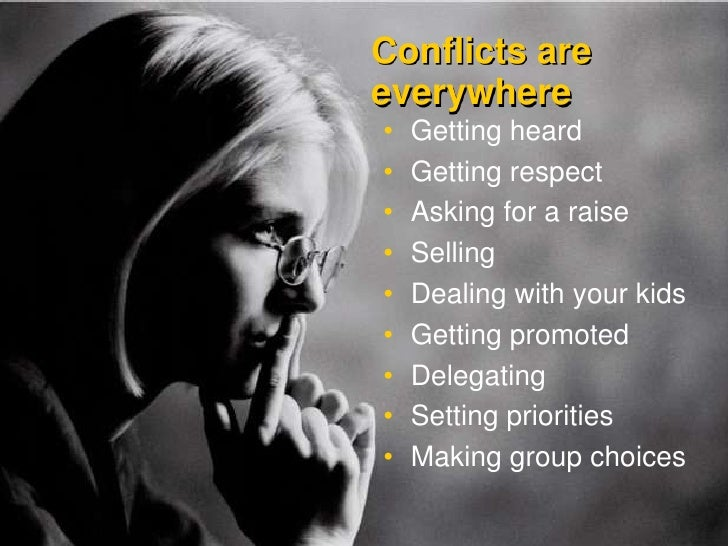 Confidence, Credibility, and Conflict Slide 3