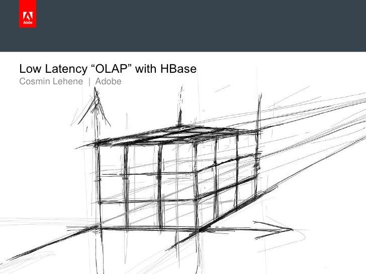 """Low Latency """"OLAP"""" with HBase     Cosmin Lehene 
