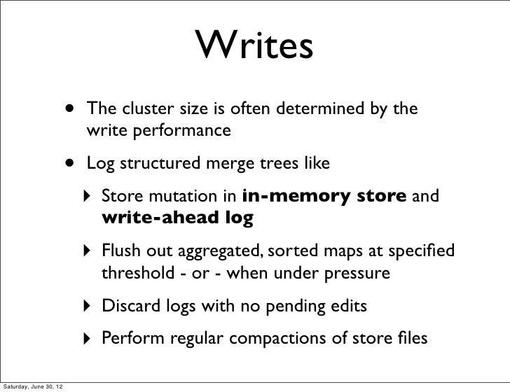 Write-ahead logging