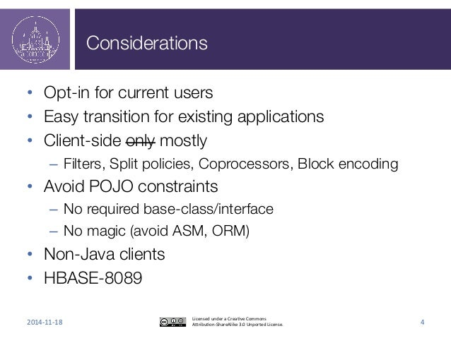 Considerations  • Opt-in for current users  • Easy transition for existing applications  • Client-side only mostly  – Filt...