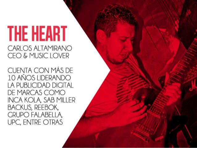 THE HEIIIIT  CARLOS ALTAMIRANO CEO t;  MUSIC LOVER  CUENTA CON MAS DE  lO ANOS LIDERANDO LA PUBLICIDAD DIGITAL DE MARCAS C...