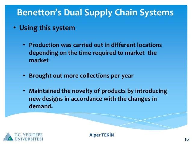 """the benetton supply chain Alla gartner supply chain executive conference 2015 di londra, benetton ha  presentato il progetto """"control tower end-to-end supply."""