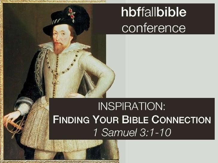 Hbf bib conf 2   1 sam 3 slides 091811