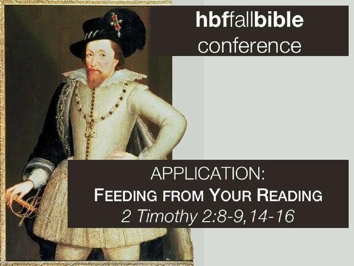 Hbf bib conf 5   2 tim 2 8-15 slides 092111