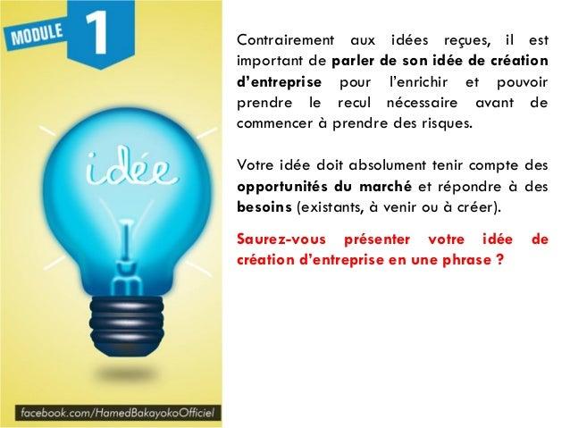#ConcoursHB Formation entrepreneuriat Module 1 Slide 3
