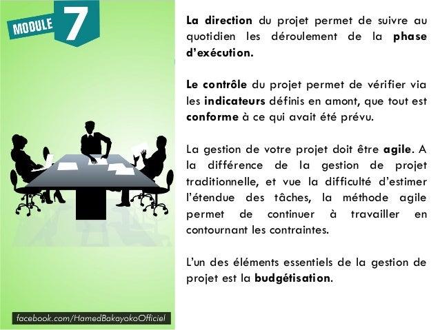 Le budget de votre projet doit être entièrement planifié et bien géré. Votre projet doit être SMART: - Spécifique - Mesura...