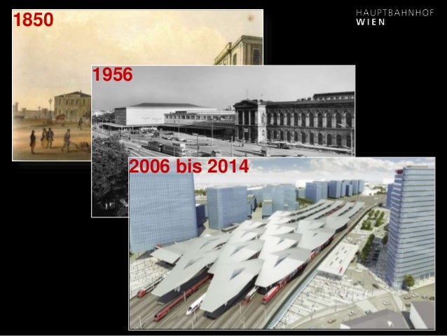 www.hauptbahnhof-wien.at 1850 1956 2006 bis 2014