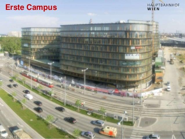 http://hauptbahnhof-wien.at Erste Campus