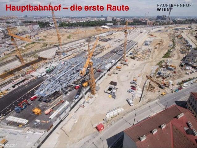 http://hauptbahnhof-wien.at Hauptbahnhof – die erste Raute
