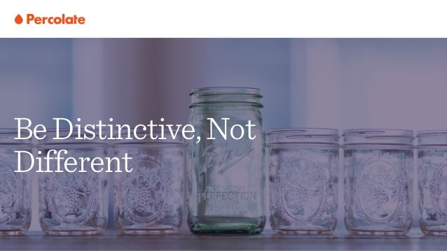 BeDistinctive,Not Different